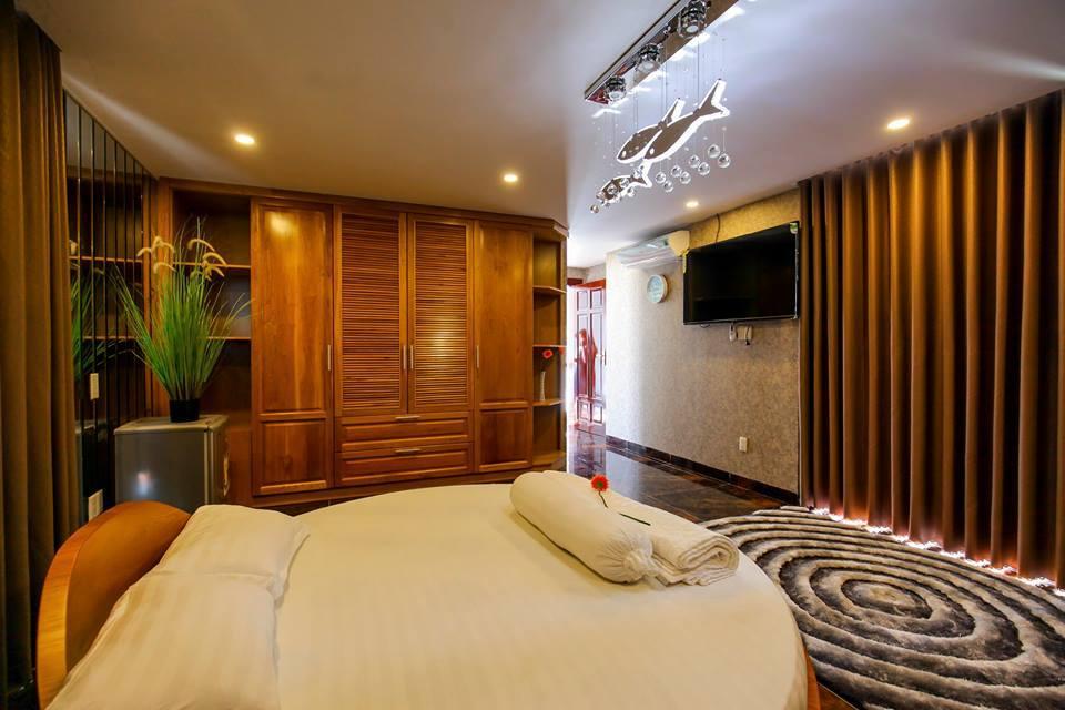 Phòng ngủ cao câp biệt thự hoàng gia 5